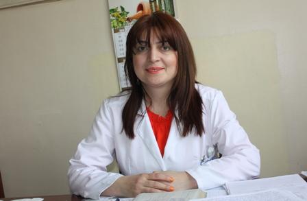 Գայանե Բաբայան <br /> տեղամասային հոգեբույժ