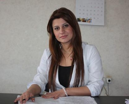 Վիրաբյան Իրինա<br /> օրդինատօր
