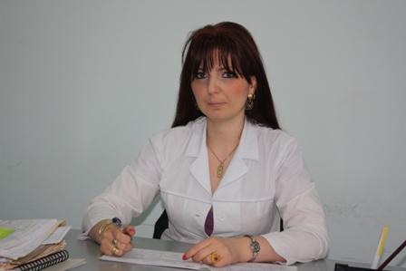 Լիանա Խաչատրյան <br /> տնօրենի բուժ. գծով տեղակալ
