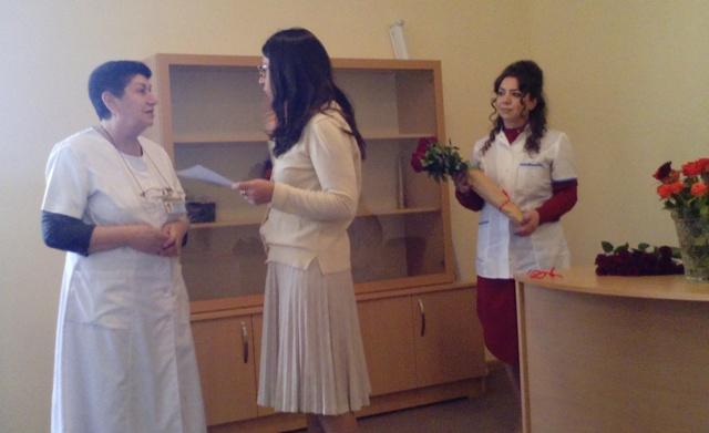«Ավան» հոգեկան առողջության կենտրոն» ՓԲ ընկերության աշխատակիցների պարգևատրում